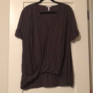 Leith short sleeve blouse